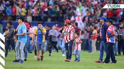 Por violencia suspenden el Atlético vs Querétaro