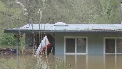 California sufre las peores inundaciones en 25 años