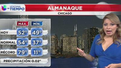 Inicio de semana gris y con frías temperaturas, el pronóstico para Chicago