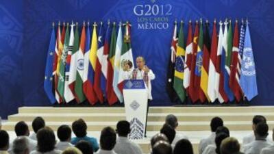 Crisis europea tema central en Cumbre del G20