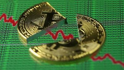 En un minuto: Bitcoin pierde más de un 50% de su valor desde diciembre