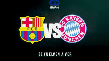 ¡Choque de titanes! Barcelona y Bayern Múnich se enfrentan en la Champions League