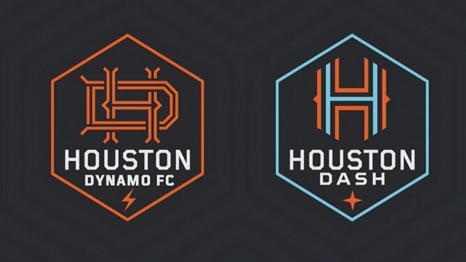 Houston Dynamo y Houston Dash estrenan nuevo logo para enfrentar nuevos retos en el futuro