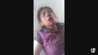 Denuncian la golpiza de tres hombres a una mujer en Hidalgo, México