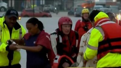 Las conmovedoras historias de sobrevivientes del huracán 'Michael'