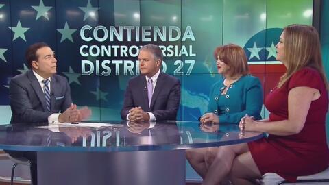 Candidatos republicanos por el Distrito 27 se unen y critican posiciones políticas de María Elvira Salazar