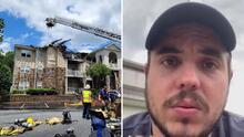 """""""A todos los latinos nos tienen como la basura"""": Hispanos afectados por el incendio en Duluth temen por su futuro"""