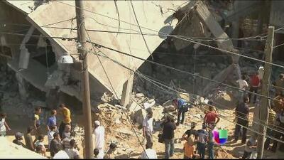 Se recrudecen los bombardeos de Israel a territorio palestino