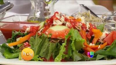 Ensaladas sanas y deliciosas con el toque latino