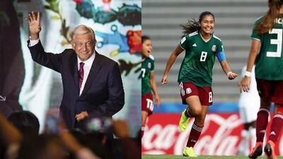 ¿Se empalman la Final del Mundial femenino y la toma de posesión de AMLO como presidente?