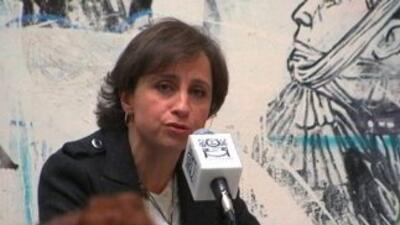 'Yo no infringí ningún código de ética', dijo periodista Aristegui