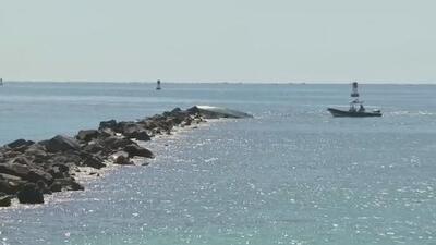 Continúa la búsqueda de una persona desaparecida tras accidente de una embarcación en Miami Beach