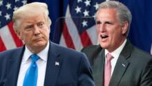 McCarthy se contradice sobre la responsabilidad de Trump en el asalto al Congreso