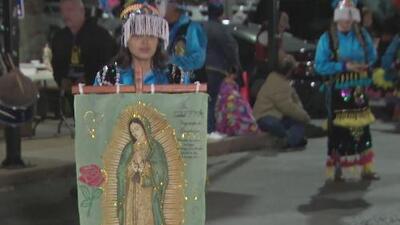 Miles de personas se reúnen en Houston para cantarle 'Las Mañanitas' a la Virgen de Guadalupe