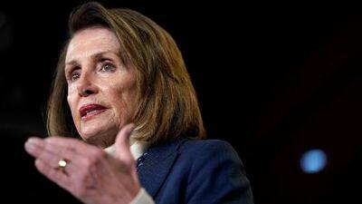 Pelosi dice que no permitirá que Trump dé su mensaje a la nación en el Congreso hasta que reabra el gobierno