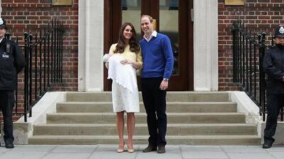 Kate Middleton, duquesa de Cambridge da a luz a una niña