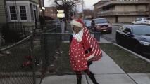 La sorpresa navideña que el 41 A Tu Lado le dio a una madre hispana duramente golpeada por la pandemia