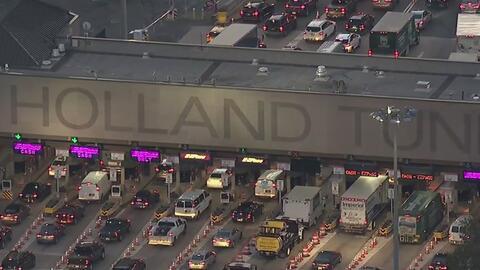Anuncian cierres en el Holland Tunnel este domingo por un simulacro de emergencia
