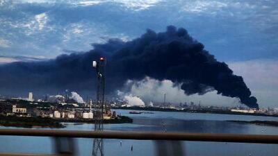 Lo último que se sabe del incendio en la planta petroquímica de Deer Park