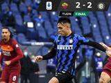 Rescata Roma empate agónico ante Inter y deja escapar al líder Milan