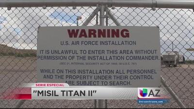"Arizona resguarda en un museo el Misil ""Titan ll"""