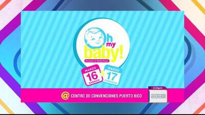 ¡Oh my baby! Parents and baby expo en Puerto Rico