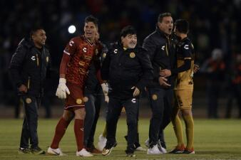 En fotos: Maradona y Dorados a la final del Apertura 2018 del Ascenso MX