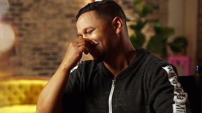 Iván Calderón lloró pensando en todo el esfuerzo que hacía por su familia mientras competía en Mira Quién Baila