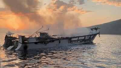 Las autoridades recuperan 33 de los 34 cuerpos del barco que se incendió en California