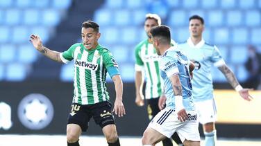 Con Lainez y Guardado, Real Betis se mete a Europa League