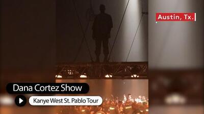 Kanye West Saint Pablo Tour Stop in Austin