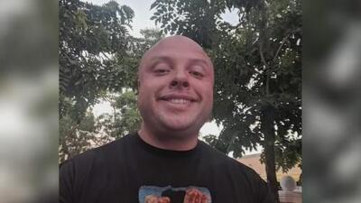 Familiares y amigos le dan el último adiós a A.J. Castañeda, el oficial que murió en medio de un presunto accidente de tránsito
