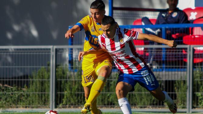 Chivas golea a Tigres y avanza a las Semifinales Sub-20