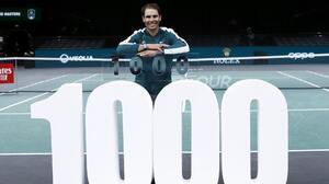 Rafael Nadal consigue su triunfo número 1000 en el circuito de la ATP