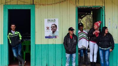 Colombia vota en unas elecciones que abren las puertas del Congreso a exguerrilleros de las FARC