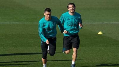 Cristiano Ronaldo se recuperó de lesión en el hombro y está listo para el derbi de España