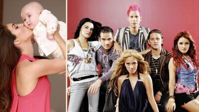 El bebé de Anahí se puso 'Rebelde' en el Día mundial de RBD