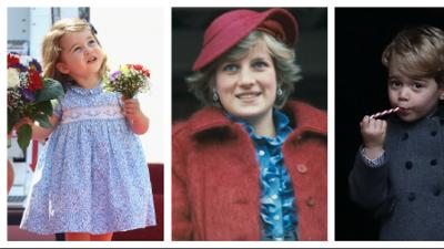 """Con estas palabras el Príncipe William mantiene viva la memoria de """"la abuela Diana"""" para sus hijos"""