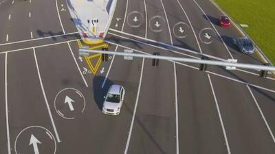Precaución y paciencia, el consejo de las autoridades ante implementación de nuevo sistema de tránsito en la autopista 836