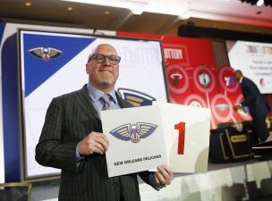 La suerte le sonríe a los New Orleans Pelicans: tendrán el primer pick del Draft de la NBA