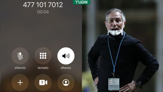 ¡Genios! León anuncia a su nuevo DT con un buzón de voz