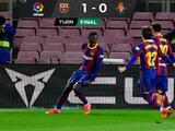 Dembélé se viste de héroe y pone al Barcelona a uno del Atleti
