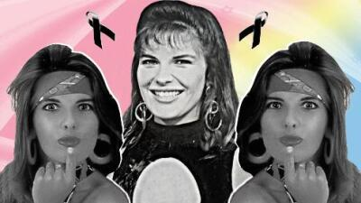Las últimas horas de Mónica Santa María: la dalina de 'Nubeluz' que perdió las ganas de vivir