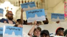 ¿Cuál es el impacto de un salario mínimo más alto que el nivel federal en Pensilvania para los habitantes Filadelfia?