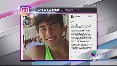 Hijo de Chayanne niega estar vinculado con escándalo de fotos sexuales