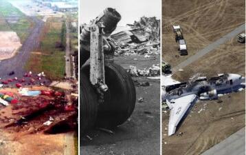 Diez tragedias aéreas que jamás se olvidarán