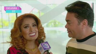 Salma Hayek luce irreconocible: cambió sus dientes y estaba dispuesta a usar bótox por una película