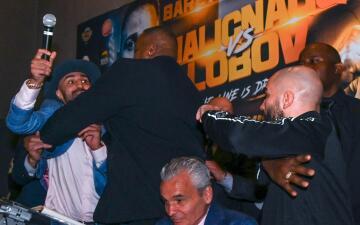Boxeo vs MMA: Paul Malignaggi y Artem Lobov tuvieron su primer cara a cara