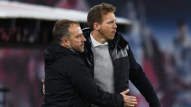 Nagelsmann niega contactos con el Bayern para suceder a Hansi Flick