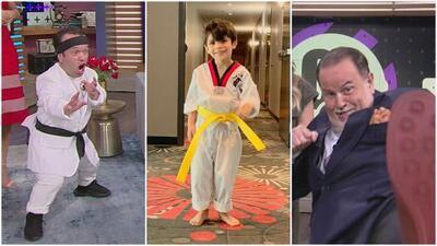 ¿Matteo, Carlitos 'el productor' o El Gordo?: cada uno muestra su destreza en taekwondo